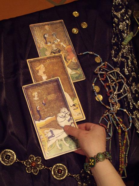 The ancient art of tarot reading