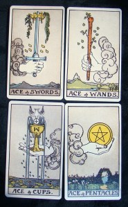 An overview on how to read tarot time