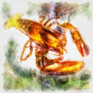 Spirit animal totem the lobster